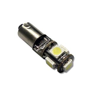 LED H6W Lamp PL-BA9S/BAX9S-5-5050 Canbus